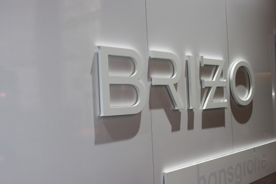 No Interior Design Show is complete without a Brizo display!