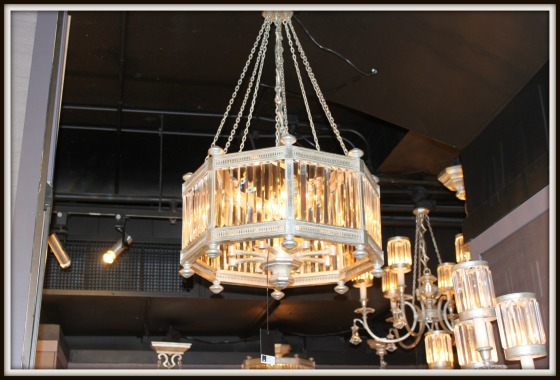 Taken at the Fine Art Lamps Showroom in High Point, NC