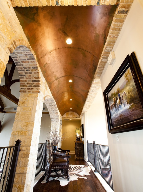 Copper Barrell Ceiling