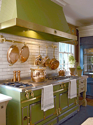 Green range and hood