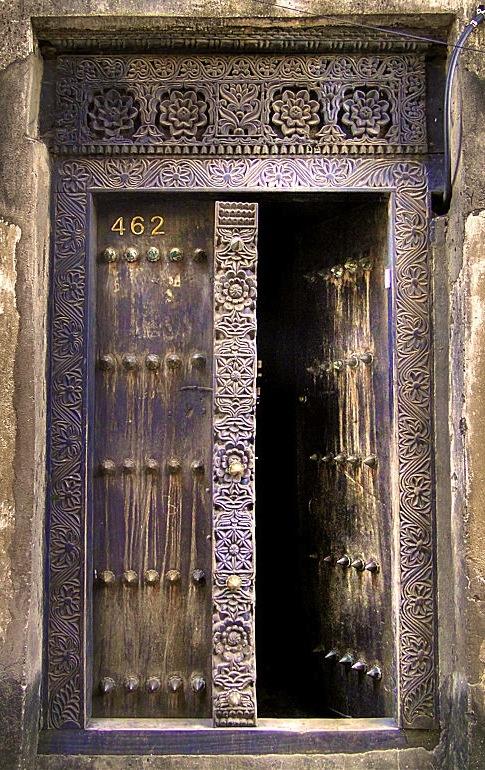old purple doors