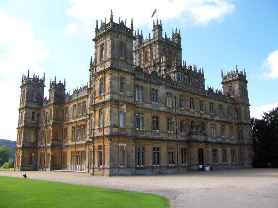 Downton Abbey close up