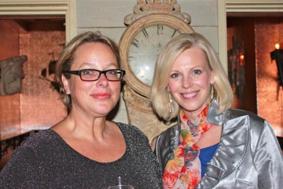 Patti and Veronika Farewell dinner