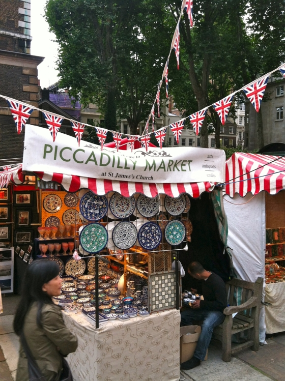 Picadilly Market - streets of London