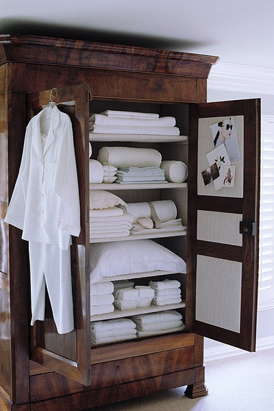 armoire repurposed