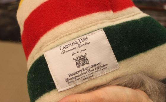 Caroline Furs Hudston Bay Blanket