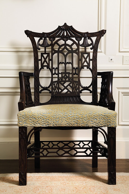 chinoiserie chair