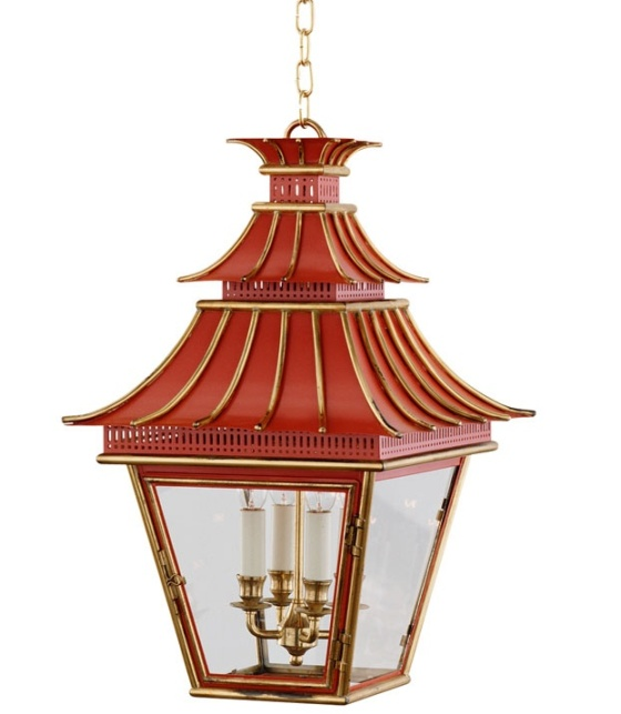 chinoiserie lighting fixture