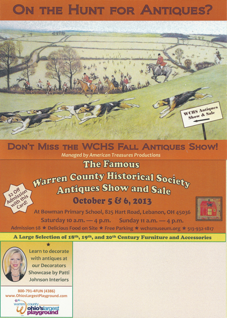sm WCHS Antique Show
