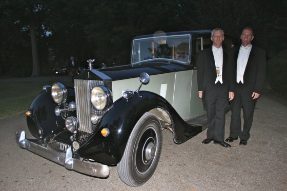 Evening came to a close and waiting in the drive was a Rolls Royce Silver Shadow.  Eat. Your. Heart. Out.