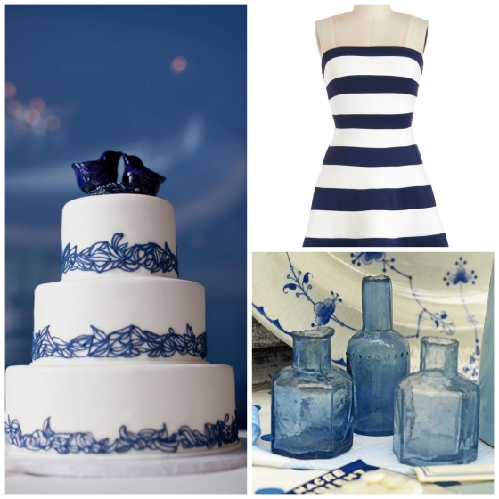 blue and white trio 9