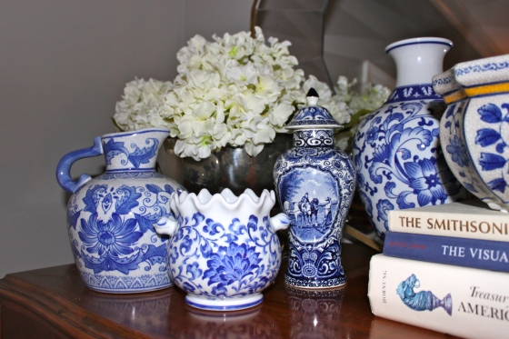 My Blue and White Collection