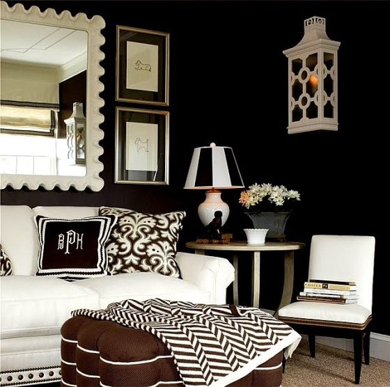 Decorating With Black (and White)