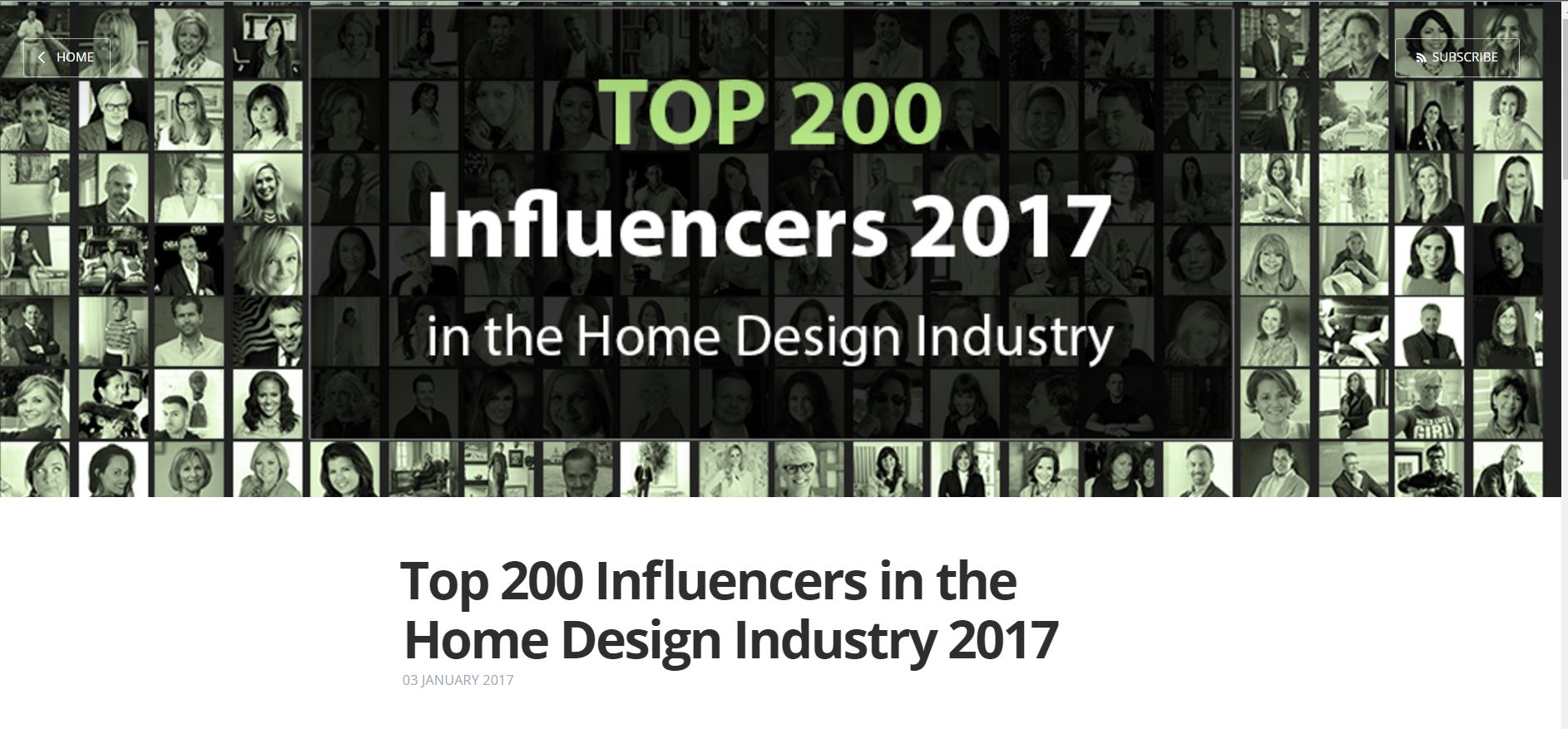 Home Design Influencers Part - 34: TOP 200 INFLUENCERS IN THE HOME DESIGN INDUSTRY 2017 | Chatti Patti Talks  Design!